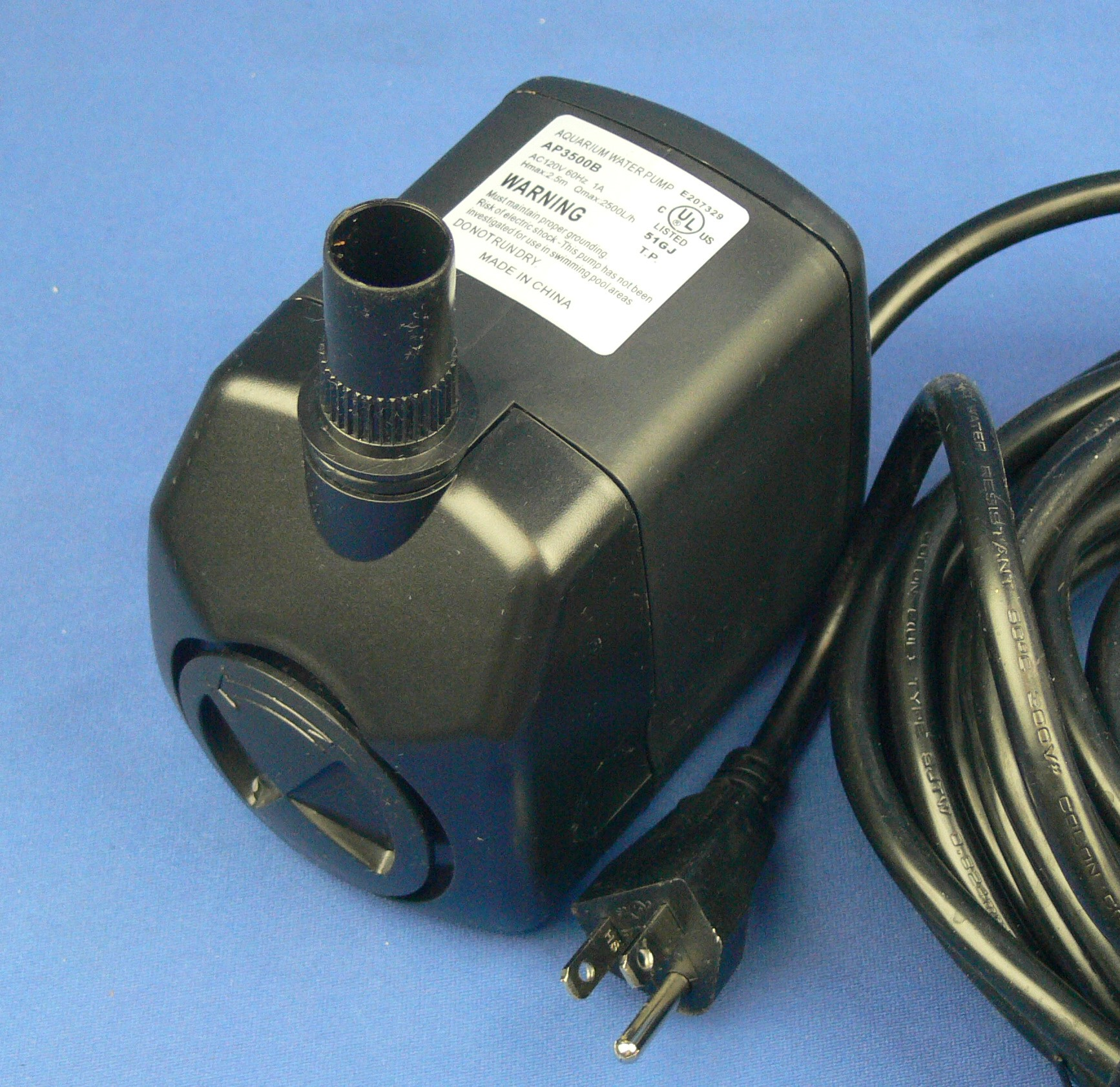 long cord fountain pump AP3500