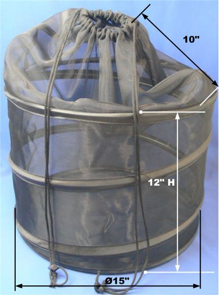fountain pump filter net basket