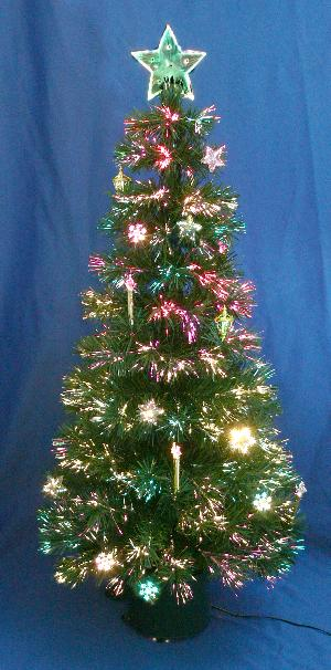 fiber optic Christmas tree - Fiber Optic Christmas Tree, Optic Angel, Santa And Lamp, Solar Stick