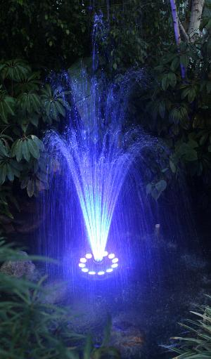 Oceanmist 174 Led Light Floating Fountain Led Ring Light