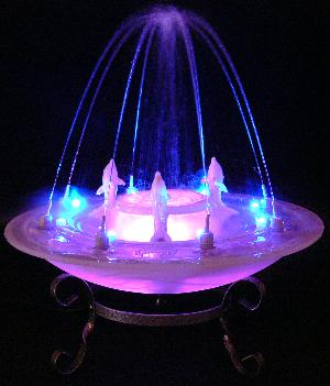 music/sound control dancing water fog fountain