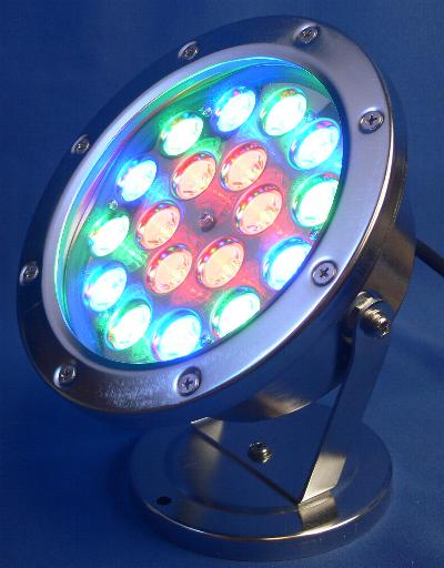 QL48C(RBG) color changing LED underwater light