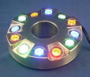 submersible QL52 LED color changing light ring